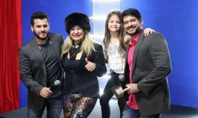 Miller Gomes e Bruno Oliveira com Lilian Gonçalves - Foto Divulgação
